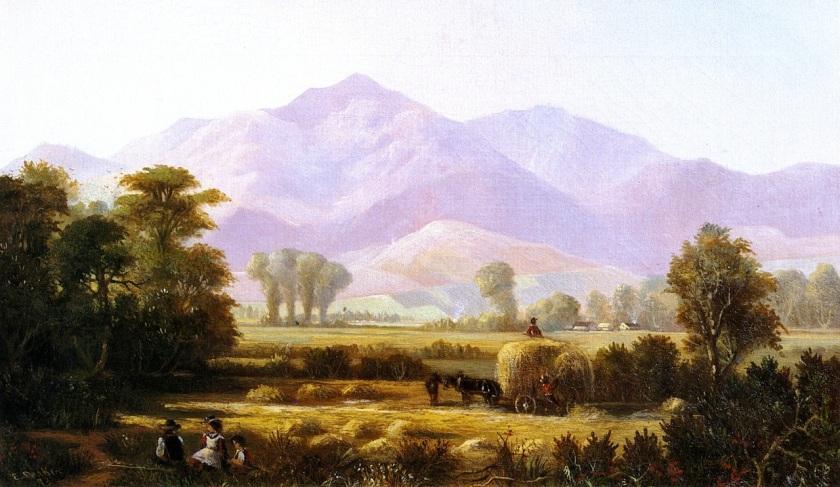 Mount-Diablo-from-Near-Pleasanton-Edwin-Deakin-oil-painting